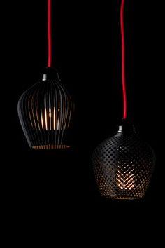 Aydınlatma ve Dekor Dünyasından Gelişmeler: Samuel Bernierdan Üç Boyutlu Dentelle Sarkıtlar #aydinlatma #lighting #design #tasarim #dekor #decor