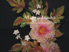 Flores en porcelana fria