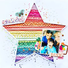 It's National Scrapbook Day 2019 and we're ready to celebrate! Find out everything we have going on (Challenges, Sales, Events, and More!) for NSD 2019 here! Scrapbook Sketches, Scrapbook Page Layouts, Digital Scrapbooking Layouts, Baby Scrapbook, Scrapbook Cards, Image Layout, Photo Layouts, Scrapbook Embellishments, Layout Inspiration