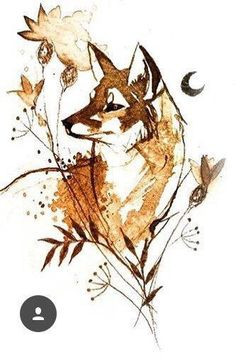 Животные - Животные La mejor imagen sobre decorating bookshelves para tu gusto Estás buscando algo y - Cute Animal Drawings, Animal Sketches, Cute Drawings, Art Sketches, Fox Drawing, Painting & Drawing, Fox Painting, Fuchs Tattoo, Fox Art