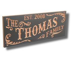 Carved Wooden Signs Name Sign Custom Wood by BenchMarkCustomSigns, $94.95