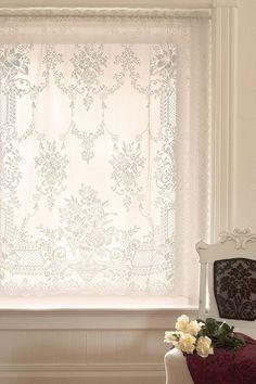 Window Treatments on Pinterest   Lace Balloons, Hand Crochet and Wedding Handkerchief