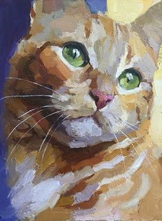 Katya Minkina - Portfolio of Works: Pets/Commissions Cat Drawing, Watercolor Painting Techniques, Watercolor Paintings, Acrilic Paintings, Watercolor Cat, Watercolor Animals, Art Pictures, Art Pics, Art Sketchbook