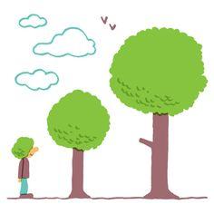 """""""Si alguien te da a elegir entre 10.000 dólares o diez árboles, escoge los árboles"""""""