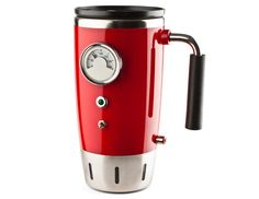 Hot Rod Heated Travel Mug - I got one of these from my daughter for Christmas and it really works well on those cold rides to work in the winter!