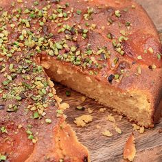 Try this Apricot almond cake with rosewater and cardamom recipe by Chef Nigella Lawson. This recipe is from the show Simply Nigella.