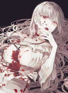 Girls Anime, Cool Anime Girl, Hot Anime Boy, Kawaii Anime Girl, Manga Girl, Anime Art Girl, Anime Guys, Anime Angel, Anime Demon