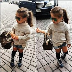 This is SO going to be Jude, when she gets older! So diva!>>>>>>> when babies look better than u ._.