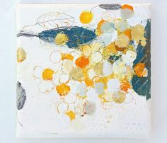 Mayako Takamura tamamushi leaf   ji no oyatsu (revised) (2013) oil on canvas, tamamushi leaf, gold leaf ...