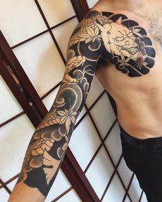Japanese Tattoos by Cacau Horihana