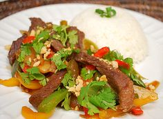 dinner, beef recipes, thai beef, beef stirfri, food, asian recip, eat, freezer meal, stir fri