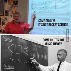 As a music major I find this hilarious.