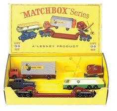 Lesney Matchbox Major Pack G9 Commercial Vehicle Gift Set