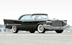 1957 Chrysler 300C. 'Forward Look' styling and a 375 horsepower Hemi. What's not to love?