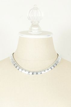 80's Avon Silver Link Necklace