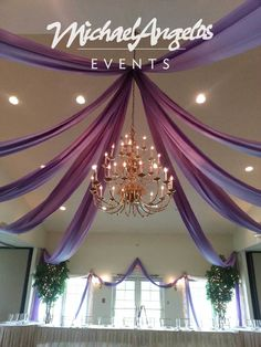 MichaelAngelos Events can completely change the look and feel of a room.