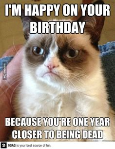 A birthday message I got from my ex...