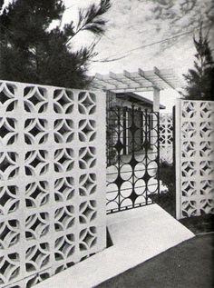 Mid-Century Breeze Blocks