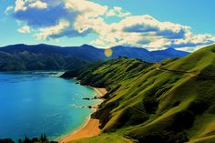 French Pass Rd, Marlborough, The South Island, New Zealand Living In New Zealand, Visit New Zealand, French Pass, Visit Australia, South Island, Amazing Nature, The Great Outdoors, Places To Visit, Kiwiana