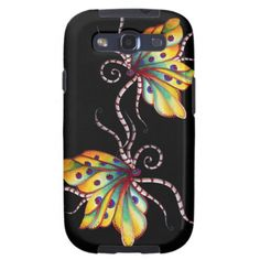 Unbelievable Butterfly Samsung Galaxy S3 Case by SimonaMereuArt $46,50