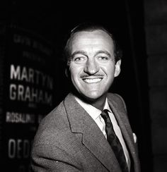 David Niven  Sprezzatura and Emulating the Ultimate English Sophisticate- David Niven- theLoveLottery