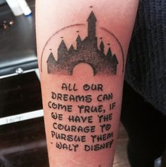 Walt Disney quote.