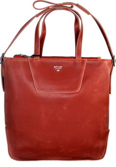 Alter Vegan Purse in Red Paprika by Matt & Nat