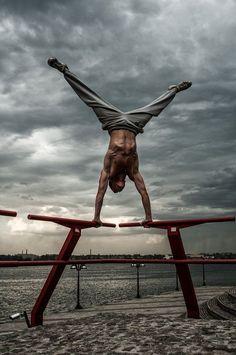 équilibre street workout