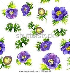 Elegance floral seamless pattern. Watercolour. Vector