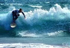 "#Surfing at the great beach near ""Cabezo"", El Medano Tenerife south"