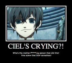 | Best Kuroshitsuji (Black Butler) Motivational poster -