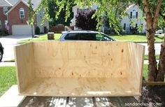 Learn how to make a rolling DIY outdoor storage box / bench for your patio or deck with this step by step tutorial. Use it as extra seating and fill it with your patio cushions. Outside Storage Bench, Diy Storage Bench, Outdoor Storage, Storage Bins, Patio Cushion Storage, Pillow Storage, Patio Cushions, Patio Furniture Redo, Diy Outdoor Furniture