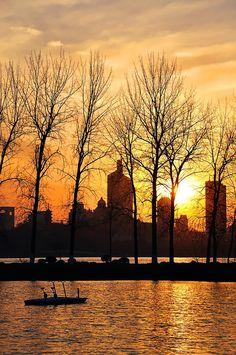 Sunset in #Nanjing, Jiangsu, China