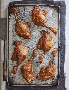Try our easy duck confit recipe. This confit duck leg recipe is easy to make and freezes well. Make these duck legs for a Christmas dinner alternative Chicken Normandy, Easy Panna Cotta Recipe, Duck Leg Recipes, Confit Duck Leg, Confit Recipes, Chicken Legs, Healthy, Ethnic Recipes, French Classic