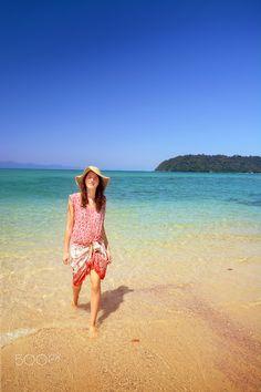 Koh Phayam  #KohPhayam #tropical #smile #beach #thailand #island #woman #girl #andaman #sea