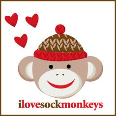 Do you believe in love at first sight? I do. The very first time I ever saw a Sock Monkey, it was true love. I wanted to hold it, cuddle it and...
