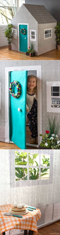 DIY #Playhouse at www.LiaGriffith.com: