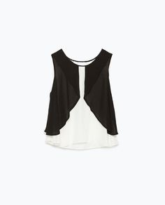 ZARA - NEW THIS WEEK - COMBINED LAYERED TOP