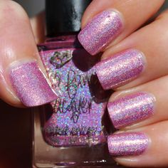 Too Fancy Lacquer Greatest Love of All (The Holo Grail Box by Dazzled - September 2014 - Waltz of the Flowers)