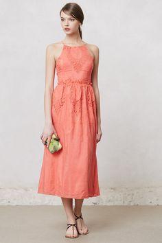 Sunlace Midi Dress | Anthropologie