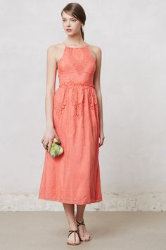 Sunlace Midi Dress - Anthropologie.com