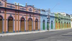Fortaleza, Ceará, Brasil - casario antigo no bairro Iracema