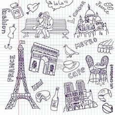 Paris Doodleshttp://www.pinterest.com/source/bing.com/