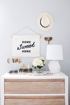 2 Ways to Make the Most of Styling Your Dresser | The Everygirl