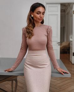 Summer Fashion Outfits, Work Fashion, Fashion 2020, Modest Fashion, Fashion Trends, Workwear Fashion, Autumn Outfits, 80s Fashion, Petite Fashion