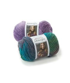 Boutique Midnight - Elegant and subtle changing colors with a dash of trendy metallic make this yarn wonderful for accessories and garments alike.