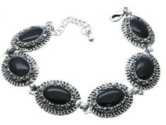 BRACELET LINK METAL Black Fashion Jewelry Costume Jewelry fashion accessory Beautiful Charms Beautiful Charms CRYSTAL fashion jewelry. $13.89. Fashion Jewelry, BRACELET LINK METAL Black. BRACELET LINK METAL Black. OVAL , BRACELET LINK METAL Black