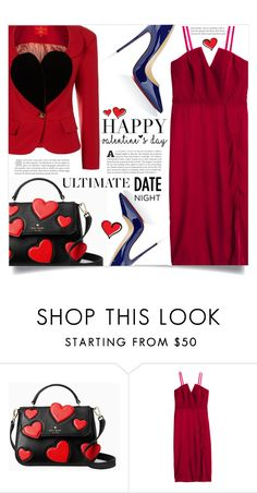 """Hot Date Night Style"" by dolly-valkyrie ❤ liked on Polyvore featuring Vivienne Westwood, Kate Spade, H&M, Christian Louboutin, Ultimate and DateNight"