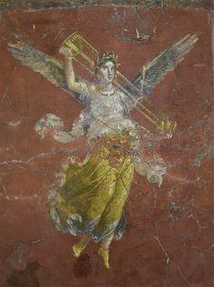Winged Victory. Pompeii, Great Gymnasium