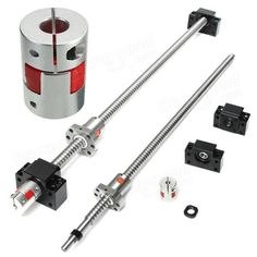 500mm SFU1605 Ball Screw with BK12 BF12 Supports